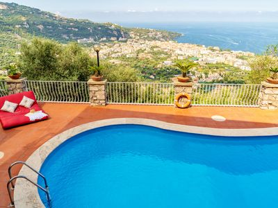 Photo for exclusive private villa with a stunning sea view Swimming Pool