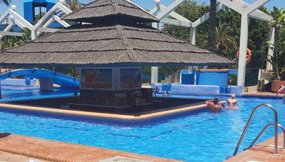 Photo for Benal Beach 1 Bed Apartment with Pool Views