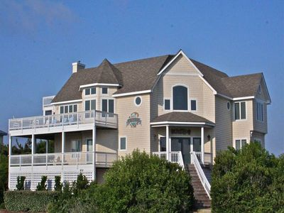 Photo for #4016: Partial OCEANVIEW Home in Corolla w/HeatedPool, HotTub & RecRm