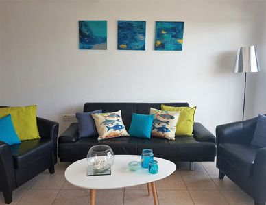 Ideal townhouse with private roof terrace & pool, near the sea