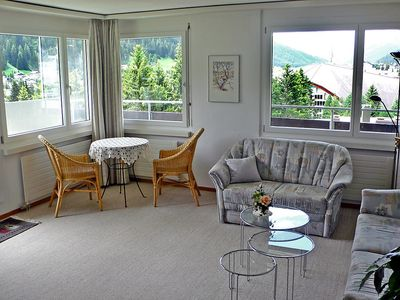Photo for Apartment in the center of Davos with Lift, Parking, Washing machine, Balcony (54017)