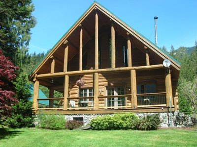 Rainier Log Home