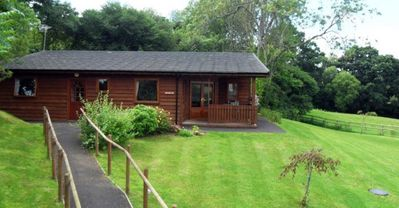 Photo for A spacious lodge with spectacular views
