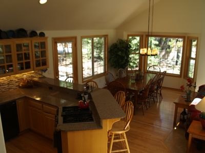Spacious remodeled kitchen with all the amenities needed for entertaining