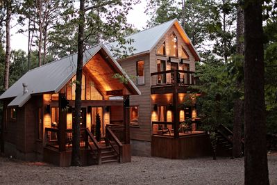 Tranquil Skies Brand New Cabin By Broken Bow Lake And
