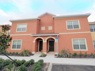 Photo for 🌴 4BR Modern townhome with private Pool at Paradise Palms Resort - 2941 🌴