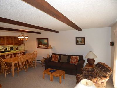 Photo for Open floor plan in this 2 bedroom Winter Park vacation rental at Hi Country Haus