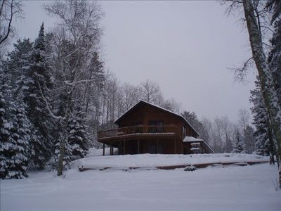 Winter in Wisconsin's northwoods -- x-country skiing, snowshoeing, snowmobiling.