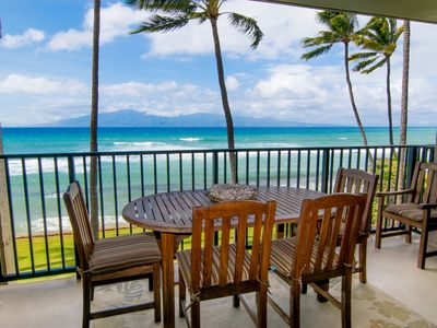 Photo for $199 SPECIAL 9/3/19-12/12/19 Highly Upgraded Direct Oceanfront 1 BR Sleeps 4