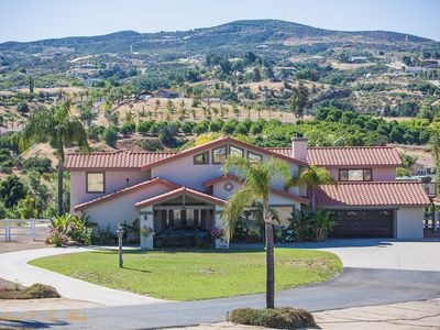 Photo for STUNNING 4 BEDROOM SUITES PRIVATELY GATED CUSTOM ESTATE w AMAZING VIEW/POOL/SPA