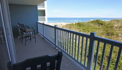 Photo for PierView 102 - Great Views!! Updated 2 BR Oceanfront Condo.