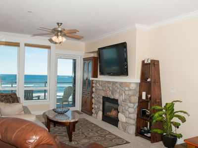 Photo for *Promo!* Oceanfront Condo w/ Private Hot Tub, Indoor Pool, WiFi and More!