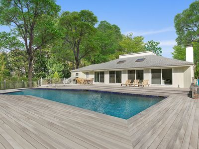 Photo for RENOVATED CONTEMPORARY IN EAST HAMPTON