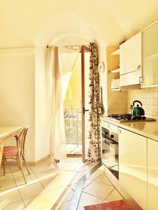 Photo for Lovely apartment in the center of old town Dolceacqua