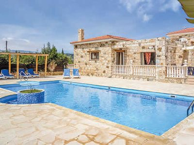 Photo for Stone villa close to the sea and local restaurants, with private pool and Wi-Fi