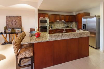 Vista Mar Three bedroom partial ocean view Kitchen