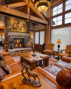 Photo for Stunning house in South Jackson with gorgeous Teton Views, Hot Tub, Fire Pit