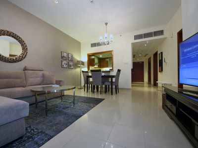 Photo for Dubai Downtown Luxury 1 Bedroom Apartment