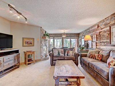 Photo for Remodeled Breckenridge condo w/ Incredible Views, downtown Breck, Hot tub access