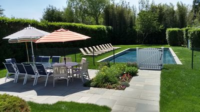 Photo for Sleeps 12, 5 baths, heart of Southampton village, 45 ' Salt Water Pool. 5 stars