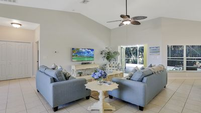 Photo for Fantastic Location in SW Cape Coral, Small Dog Ok, Pool, Cape Harbour close!