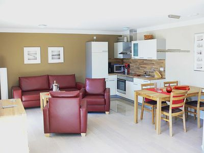Photo for Apartment - 14 DG 3 - Villa Nause - sea view, sauna, whirlpool, fireplace and much more.