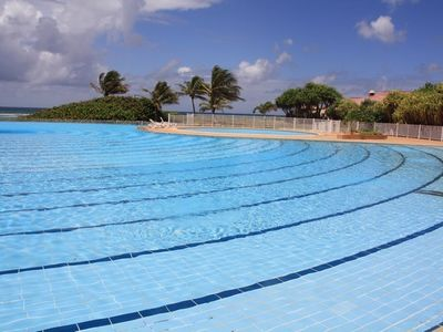 Photo for Spacious studio direct access to pool and beach 'THE PEARL LAGOON'