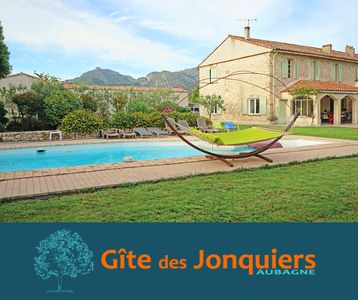 Photo for 4-star cottage with pool in a Provencal country house from the 18th century