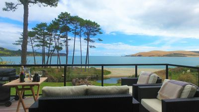 Photo for Absolute Waterfront Beachfront Omapere Opononi on the Hokianga Harbour.