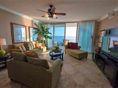 3 BR, 3 BA BEACHFRONT with pool and workout room!