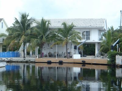 View of Back of House from the water.