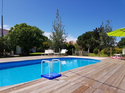 Photo for Villa Alguer, in the town 400m from the sea 5 beds 2. 5 bath NO NEED FOR A CAR