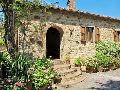 Photo for Apartment Podere Siepi (CTC294) in Castellina in Chianti - 8 persons, 4 bedrooms