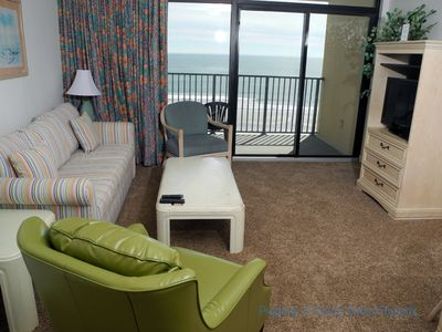 Photo for Veranda's 601 Oceanfront 1 Bedroom! Perfect for a couple's getaway!