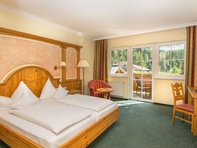 Photo for Standard double room, 28m², shower, WC - Lürzerhof, wellness and spa hotel