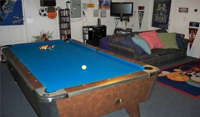 Pool Table X Box 360 On HD TV 75 Movies For Our 9ft Wide Cinama Screen