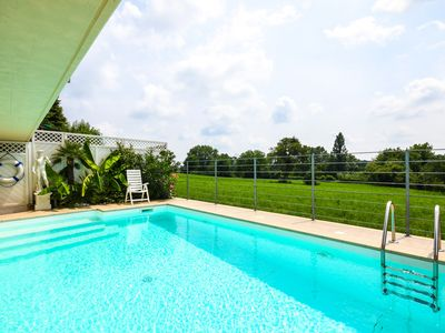 """Photo for """"Villa Casa Mia"""" with pool and outdoor relaxing area in the hinterland of southern Lake Garda"""