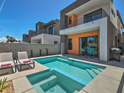Photo for NEW! Luxurious Palm Springs Home 2 Mi. to Downtown