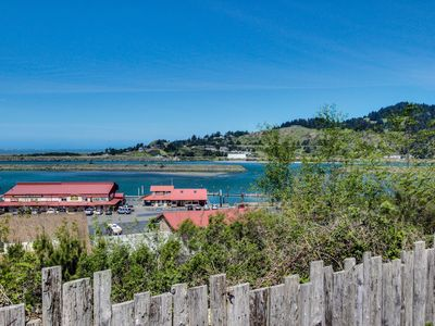Photo for Cute, dog-friendly cottage with bay and ocean views - close to the beach