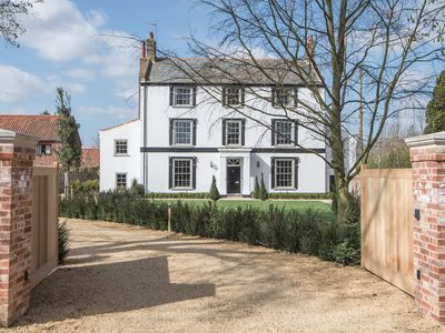 Photo for A luxury Grade II listed Manor House just 15 mins from the North Norfolk coast