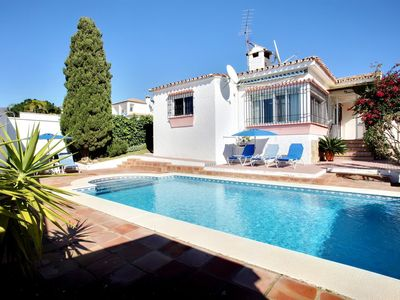 Photo for Semi-secluded 3 Bed, 2 bath Family Villa with Pool & Gardens