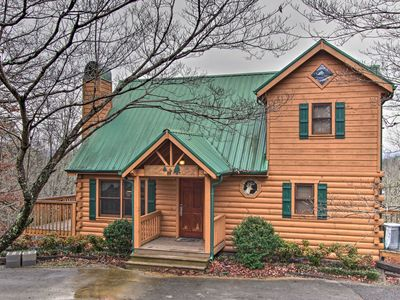 Photo for NEW! Pigeon Forge Cabin w/Hot Tub & Entertainment!