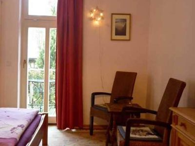 Photo for Double room with south balcony - Villa Harmonie