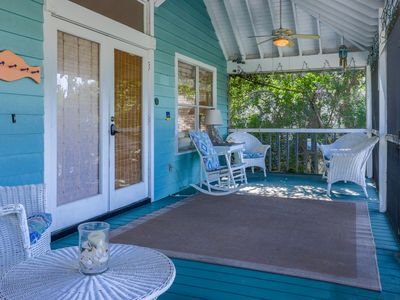Photo for Charming cottage w/ island views, entertainment & nearby beach access!