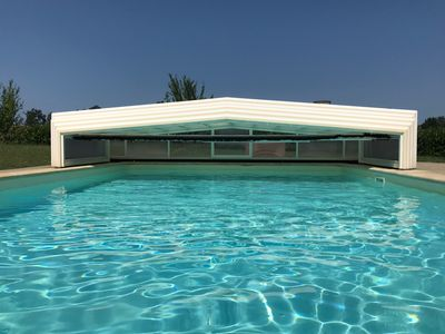 Photo for Exclusive use of Pool & Hot Tub - 2 Bedrooms - en suite - sleeps up to 5