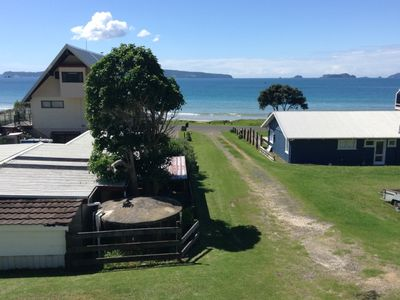 Photo for Fabulous views from this Opito Bay Beach House