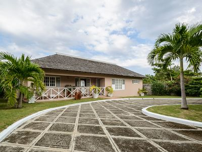 Photo for Secluded Villa For Up To 8 Persons With A Panoramic View Of The Caribbean Sea