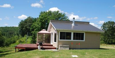 Photo for Modern, Pet-friendly Lakefront Cottage,  / AbitibiTemiscamingue ON, QC