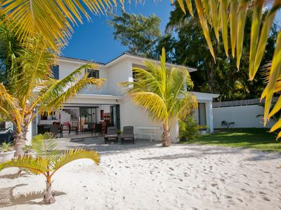 Photo for VILLA ON PARADISE BEACH FROM 220 EURO Pointe d'Esny