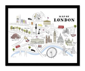 A snap shot of attractions in London